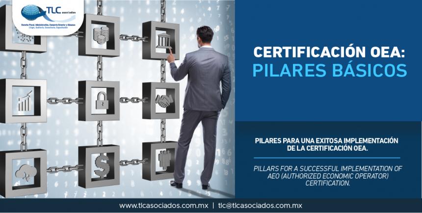 341 – Pilares para una exitosa implementación de la Certificación OEA/ Pillars for a successful implementation of AEO (Authorized Economic Operator) Certification.