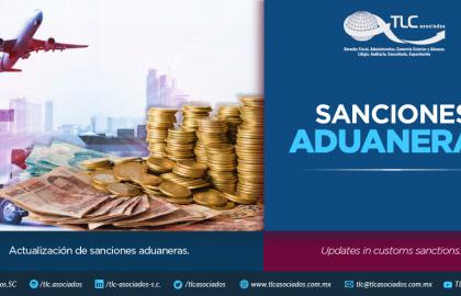 347 – Actualización de sanciones aduaneras/ Updating the customs penalties.