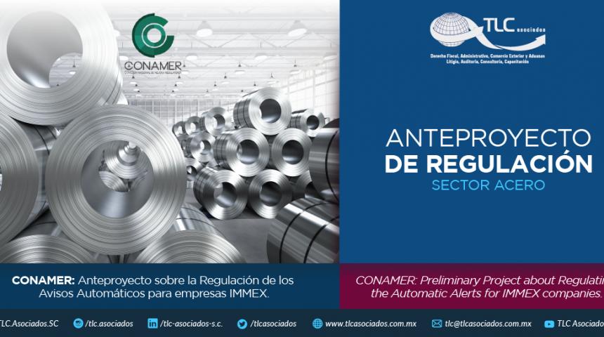 355 – CONAMER: Anteproyecto sobre la Regulación de los Avisos Automáticos para empresas IMMEX.