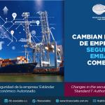 357-CAMBIAN LOS PERFILES DE EMPRESA EN LA SEGURIDAD DE EMBARQUES COMERCIALES