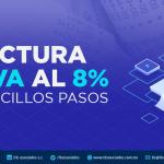 Factura el IVA al 8% en sencillos pasos