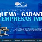 366 – Actualizan anteproyecto del  Esquema de Garantías para Empresas IMMEX/ Updating of the Preliminary Project of the Guarantee Procedure for IMMEX enterprises.