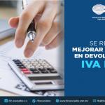 T70 – SE REQUIERE MEJORAR LOS TIEMPOS  EN DEVOLUCIONES DE IVA E IEPS.