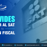 T77 – No olvides informar al SAT sobre tu Situación Fiscal/ Remember to notify SAT of your Tax Position.