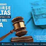 381 – Deben empresas prevenirse por dos o más multas por la misma infracción por parte del TFJA.