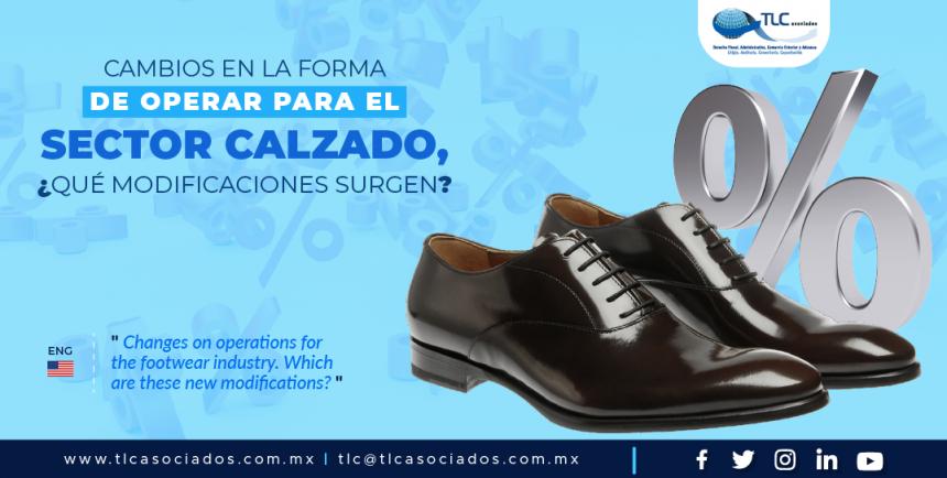 388 – Cambios en la forma de operar para el sector calzado, ¿qué modificaciones surgen?/ Changes on operations for the footwear industry. Which are these new modifications?