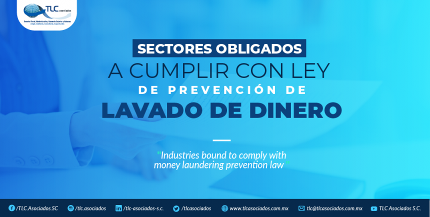 T83 – Sectores obligados a cumplir con Ley de prevención de lavado de dinero/ Sectors forced to comply with the Anti-Money Laundering Prevention Law