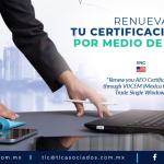 405 – Renueva tu certificación OEA por medio de VUCEM