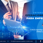 418 – CRITERIOS SOBRE OPERACIONES VIRTUALES PARA EMPRESAS IMMEX/ CRITERIA REGARDING VIRTUAL OPERATIONS FOR IMMEX COMPANIES