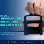 424 – Actualizan tiempos de respuesta para la certificación OEA en las RGCE para 2019/ Updates on response times for the AEO certification in the General Rules of Foreign Trade for 2019