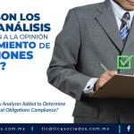 T89 – ¿Cuáles son los nuevos análisis que se agregan a la Opinión de Cumplimiento de Obligaciones Fiscales?