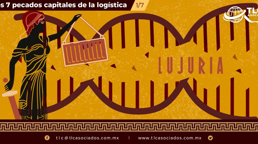 LUJURIA: La falta del ADN logístico en las personas que se encuentran a cargo de esta área.