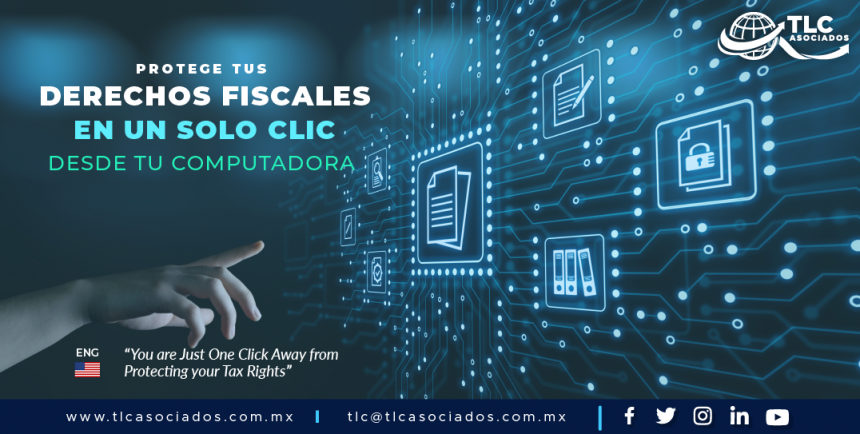 431 – Protege tus derechos fiscales en un solo clic desde tu computadora./ You are Just One Click Away from Protecting your Tax Rights