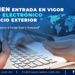 DA1 – Posponen entrada en vigor del Pago Electrónico de Comercio Exterior/The Electronic Payment of Foreign Trade is Postponed