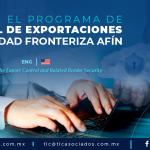 RI2 – Conoce el Programa de Control de Exportaciones y Seguridad Fronteriza Afín/ Learn about the Export Control and Related Border Security.