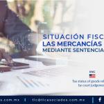 DCA5 – Situación fiscal de las mercancías liberadas mediante sentencia de tribunal/ Tax status of goods released by court judgement