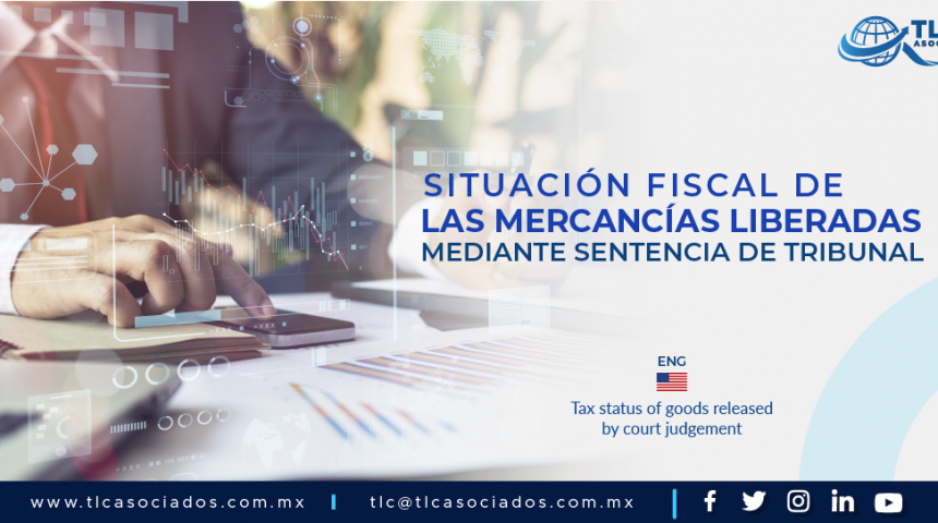 DCA5 – Situación fiscal de las mercancías liberadas mediante sentencia de tribunal/ Tax status of goods released by court judgement