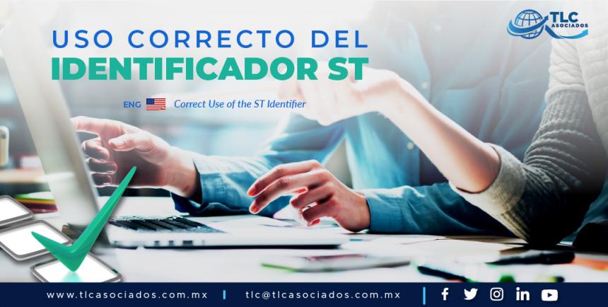 EN3 – Uso correcto del identificador ST/ Correct Use of the ST Identifier