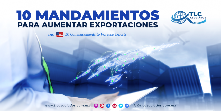 NC1 – 10 mandamientos para aumentar exportaciones/ 10 Commandments to Increase Exports