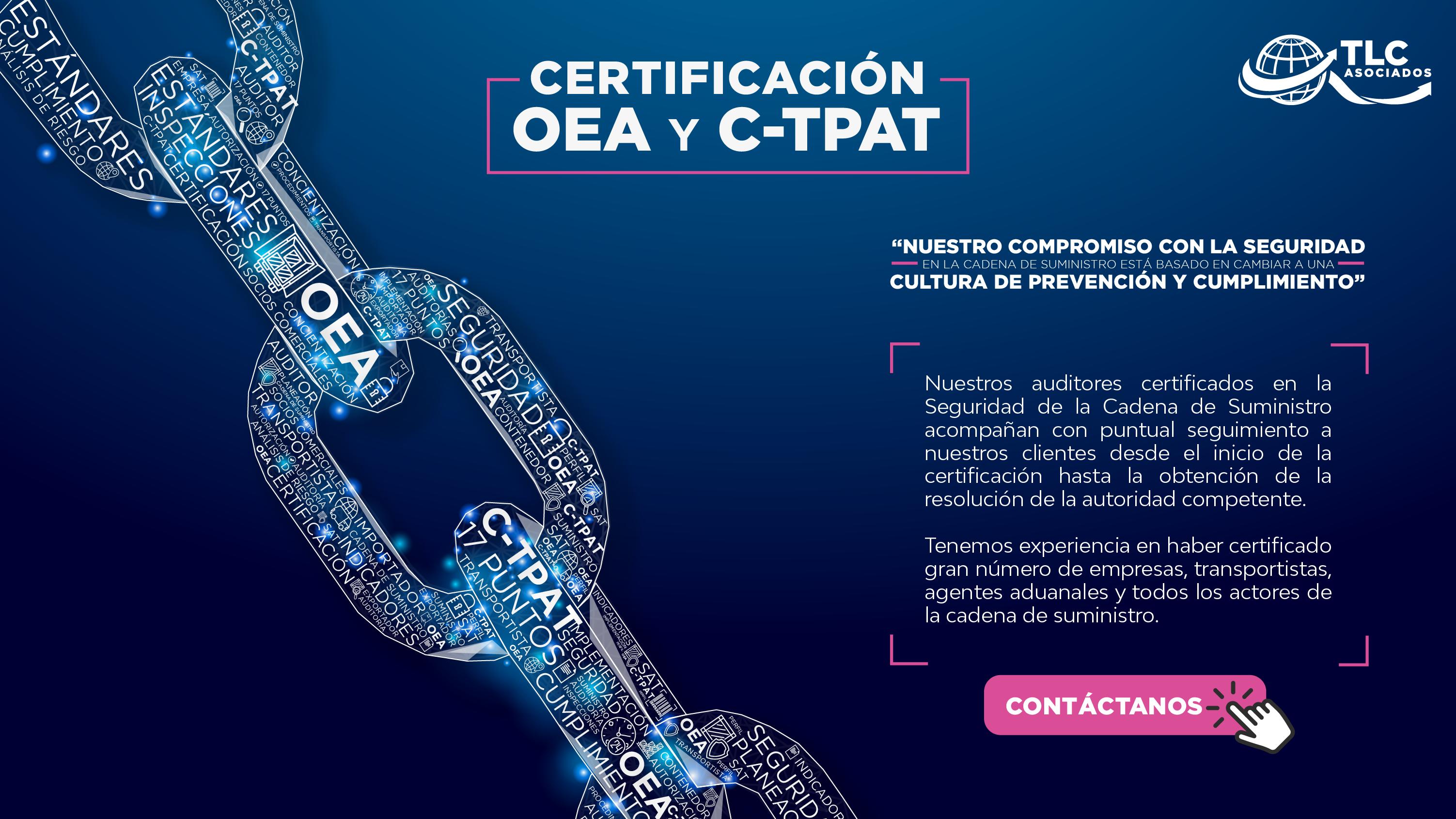 Certificación OEA y C-TPAT