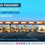 Programa Paisano: importa mercancías sin pagar impuestos al comercio/ Civilian Program: import goods without paying trade taxes