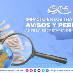 T103 – Impacto en los trámites de avisos y permisos ante la Secretaría de Economía/ Impact on the procedures for notices and permits before the Secretariat of Economy
