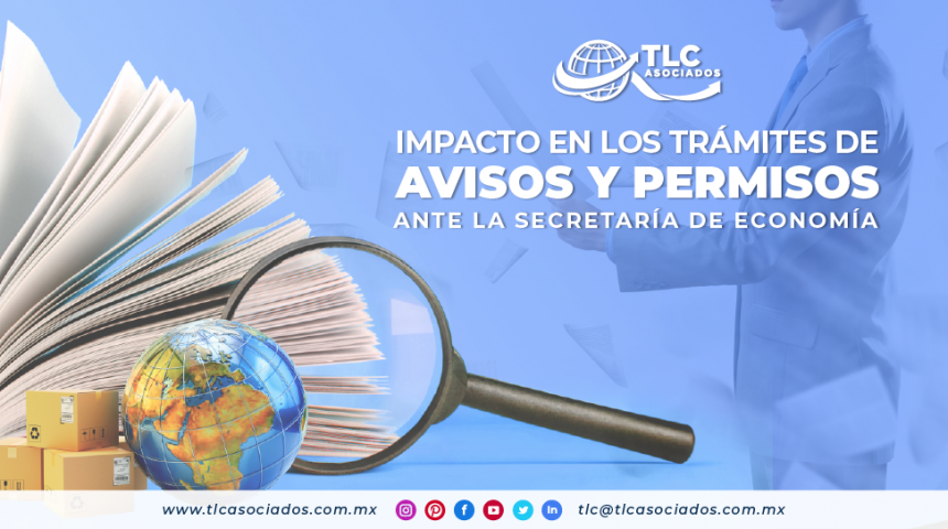T103 – Impacto en los trámites de avisos y permisos ante la Secretaría de Economía/ Impact on the procedures for notices and permits before the Secretariat of Economy
