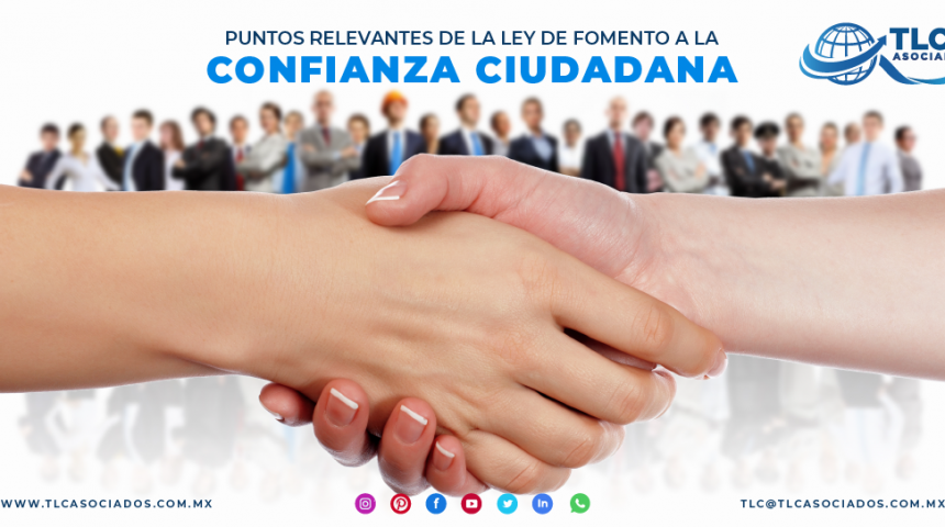 T106 – Puntos relevantes de la Ley de Fomento a la Confianza Ciudadana/ Relevant Aspects of the Law for the Promotion of Citizen Trust