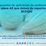 CS12 – Supuestos de aplicación de pedimentos con clave A3 que deben de reportarse al SCCCyG/ Cases Where Pedimentos with Code A3 Apply and Must be Reported to the Control System of Credit Accounts and Guarantees