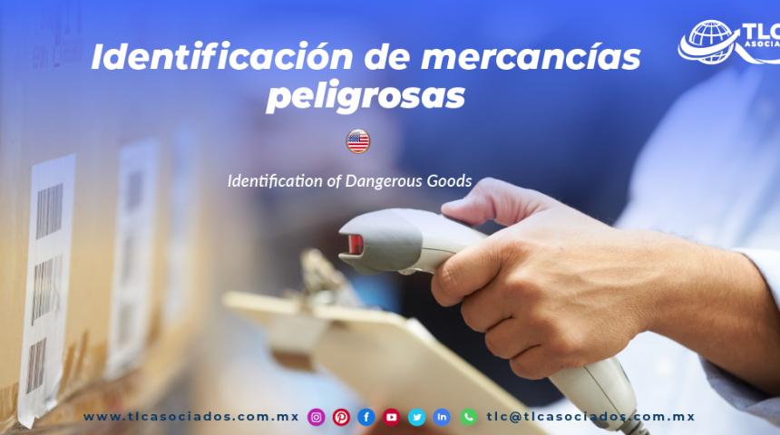 EN13 – Identificación de mercancías peligrosas/ Identification of Dangerous Goods