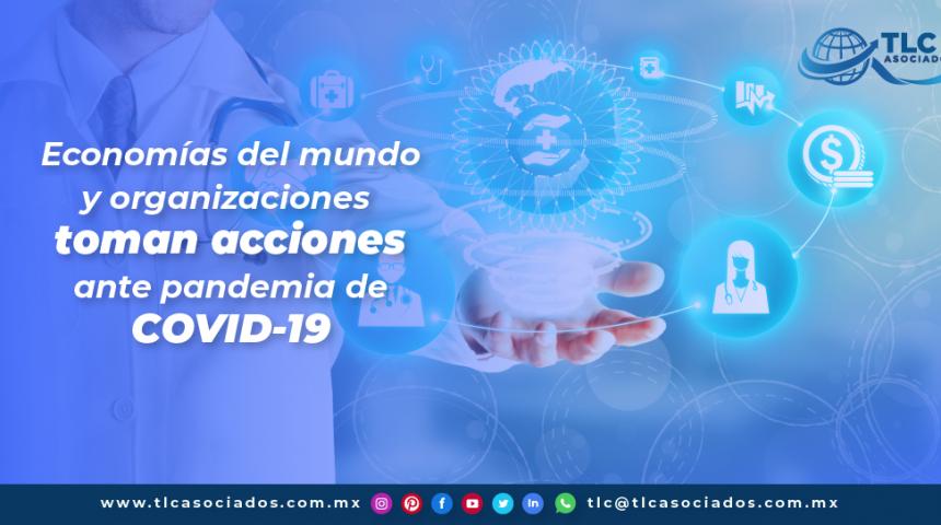 T114 – Economías del mundo y organizaciones toman acciones ante pandemia de Covid-19/ World Economies and Organizations Take Action Against the Covid-19 Pandemic