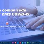 CO20 – Envía comunicado C-TPAT ante COVID-19/ C-TPAT issues press release regarding COVID-19