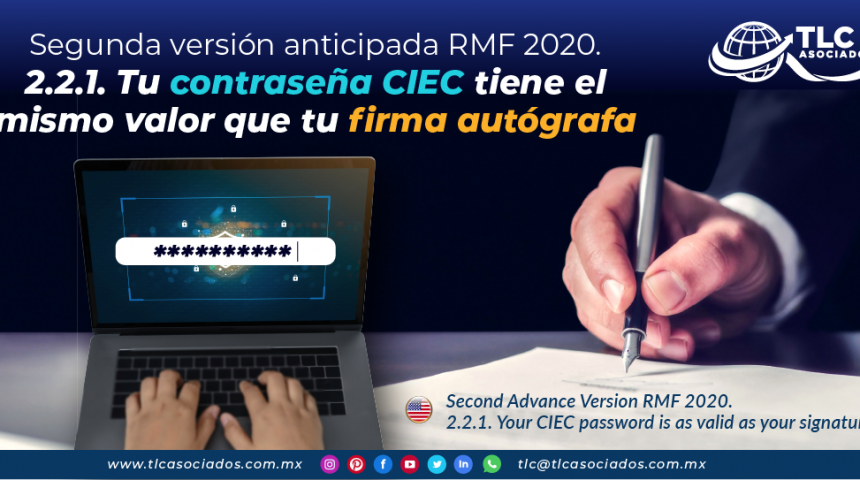 IC14 – Valor probatorio contraseña CIEC/ Evidential Value of the CIEC Password