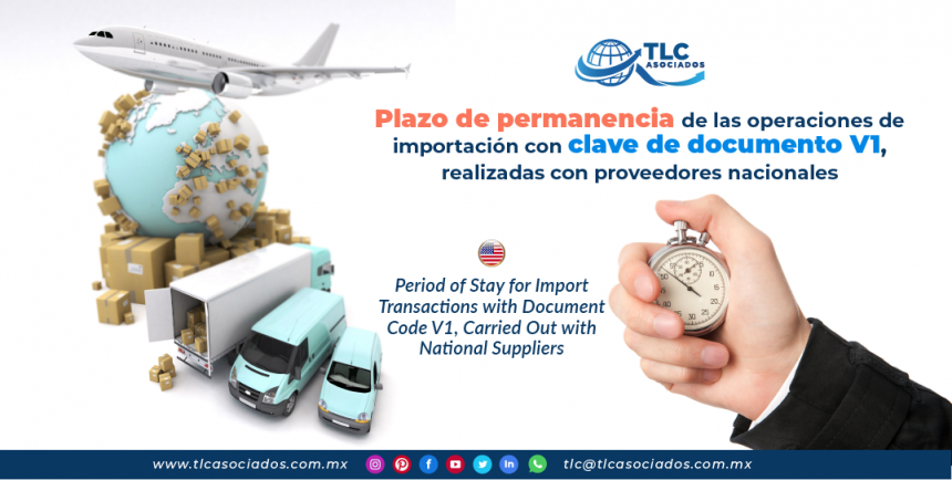 EN16 – Plazo de permanencia de las operaciones de importación con clave de documento V1, realizadas con proveedores nacionales/ Period of Stay for Import Transactions with Document Code V1, Carried Out with National Suppliers