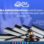 AL20 – Tribunales Administrativos continúan ampliando suspensión de plazos y términos por contingencia COVID-19/ Administrative Courts Extends Suspension and Contingency Terms due to COVID-19