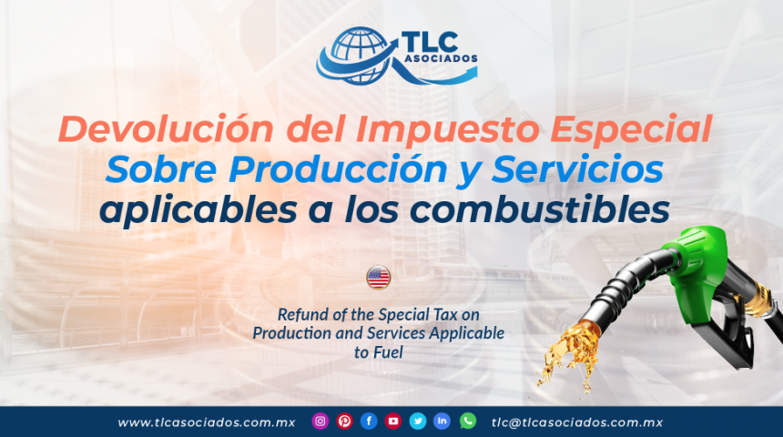 IC18 – Devolución del Impuesto Especial Sobre Producción y Servicios aplicables a los combustibles/ Refund of the Special Tax on Production and Services Applicable to Fuel