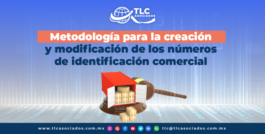 T135 – Metodología para la creación y modificación de los números de identificación comercial/ Methodology to Create and Modify Commercial Identification Numbers
