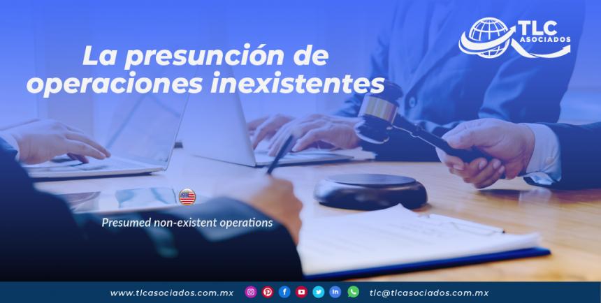 IC21 – La presunción de operaciones inexistentes./ Presumed non-existent operations.