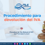 IC23 – Procedimiento para devolución del IVA/ Procedure for the Refund of VAT