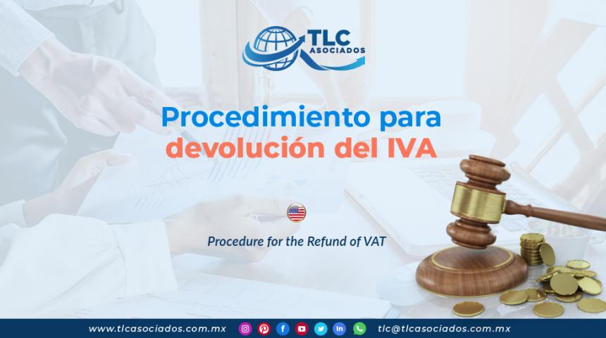 IC23 – Procedimiento para devolución del IVA/ Procedure for the Refund of VAT
