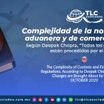 T141 – Complejidad de la normatividad aduanera y de comercio exterior