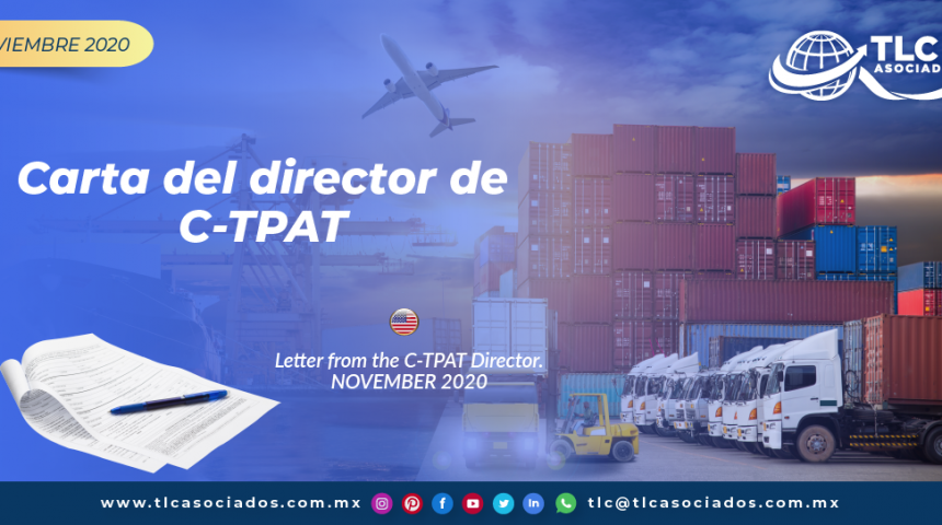 Carta del director de C-TPAT/ Letter from the C-TPAT Director