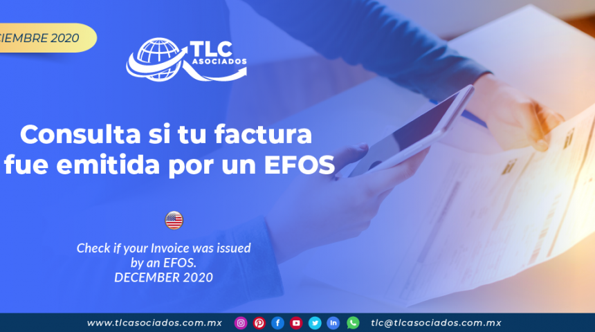 Consulta si tu factura fue emitida por un EFOS/ Check if your Invoice was issued by an EFOS