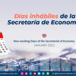 Días inhábiles de la Secretaría de Economía