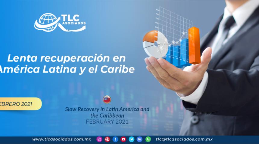FMI: Lenta recuperación en América Latina y el Caribe.