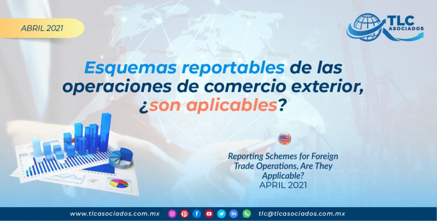 Esquemas reportables de las operaciones de comercio exterior, ¿son aplicables?