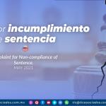 Queja por incumplimiento de sentencia
