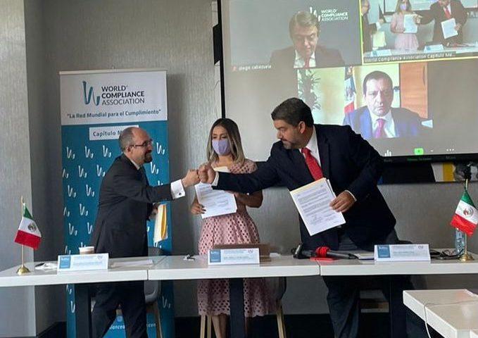 Firman acuerdo para promover el cumplimiento empresarial y prácticas anticorrupción